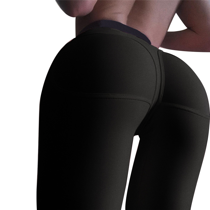 Women's Sexy Push Up Bodybuilding Pants Female Patchwork Casual Dressed Peach Hip Heart High Waist Black And Army Green Leggings