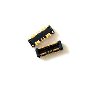 Image 5 - 10 ピース/ロットインナー FPC コネクタバッテリーホルダークリップ接触 mortherboard 上 ASUS Zenfone 5 4 最大 ZC554KL
