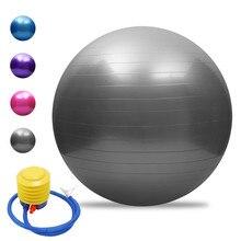 45/55/ 65/75 CENTÍMETROS Anti-explosão Yoga Bola Espessamento Bola de Estabilidade Equilíbrio Pilates Barre Esfera do Exercício Da Aptidão Física Presente Bomba de Ar