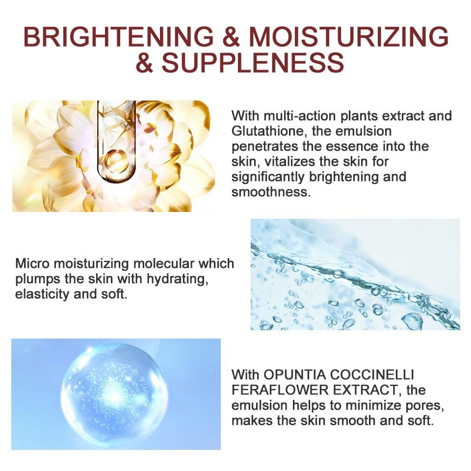 Image 3 - Dreamy Facial Emulsion Face Lotion Multiple Vegeta Essence Extract Moisturizer Skin MECMOR Additive Free Natural Organic 100mlEmulsion   -