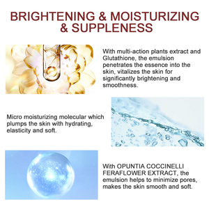 Image 3 - Dreamy Facial Emulsion Face Lotion Multiple Vegeta Essence Extract Moisturizer Skin MECMOR Additive Free Natural Organic 100ml
