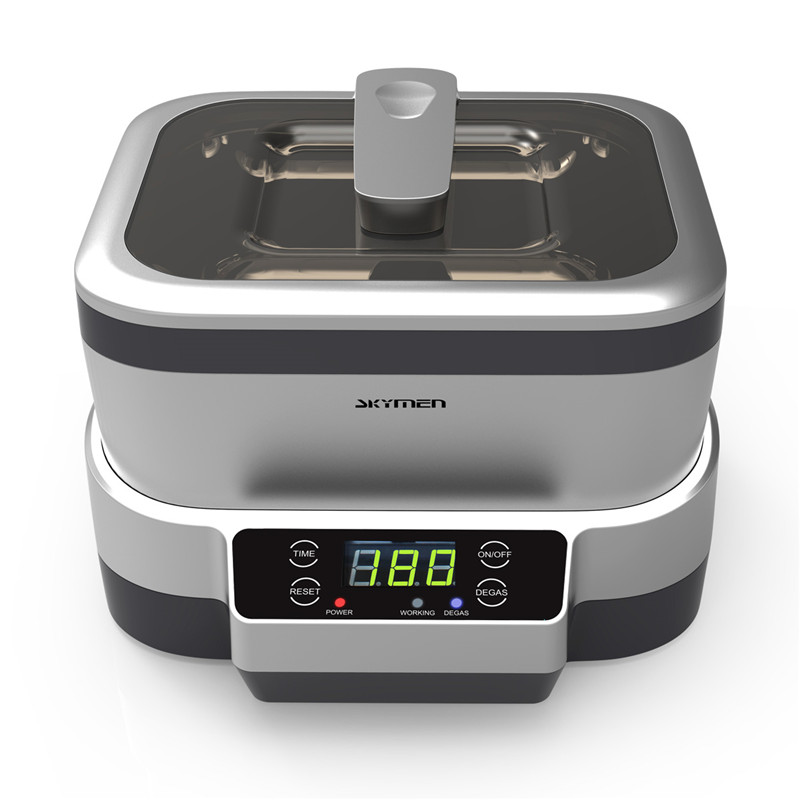 Skymen Ultrasonic Cleaner 1.2L Jewelry Bath Dental Manicure Tools Toothbrush Cutter Stones Glasses Gold Cleaning Machine
