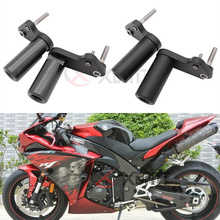 No Cut Motorcycle Frame Sliders Crash Falling Protection For Yamaha YZF R1 YZF1000 YZF R1 2009 2010 2011 2012 2013 2014 2015