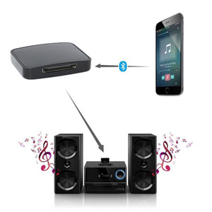 Image 5 - 30pin Bluetooth 5.0 Support A2DP 30 Pin Stereo Audio Adapter Music Receiver For Bose SoundDock II 2 IX 10 Portable Speaker