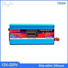 Suore 1200W 12V para 220V Inversor De Potência Do Veículo/DC Modificado Inversor de Onda Senoidal com Porta USB /Car Power Inverter adaptador Conversor