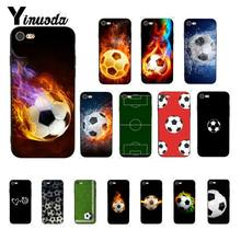Yinuoda Voetbal Nieuwigheid Fundas Telefoon Case Cover voor iPhone 8 7 6 6S 6Plus X XS MAX 5 5S SE XR Fundas Capa 11 pro max(China)