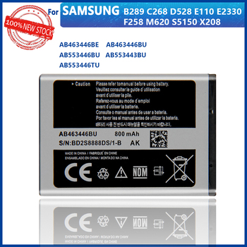 100% Original AB463446BA AB463446BC AB463446BE AB463446BU AB463446TU For Samsung S139 M628 X520 F258 C3011 X208 E1200 Battery image