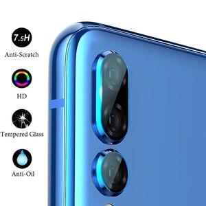 Image 3 - Protector de pantalla de vidrio templado para Huawei P30 20 Mate20 Pro Lite, protección de lente de cámara para Huawei Nova 3 4 P Smart 2019 Glas