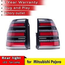 New Car Styling Rear Tail Light For Mitsubishi Pajero V93 V97 2007 2019 Tail Brake Light Rear Turn Signal Lamp car accessories