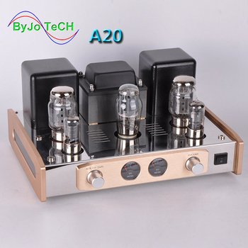 ByJoTeCH NEW A20 update version pure Class A single-ended KT88 tube amplifier 110V~240V HIFI Stereo Audio Power Amplifier AMP finished el34 vacuum tube amplifier stereo hifi single ended class a power amp 5z4p rectifier 6n2 tube amplifier