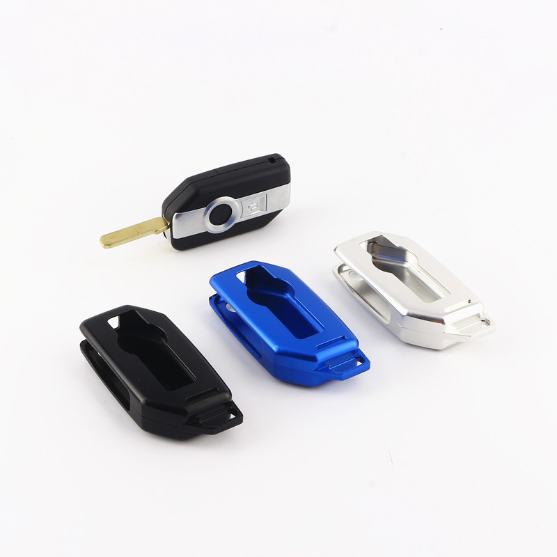Aluminum Alloy One-click Start Remote Control Package Keyless Start Key Case Holder For BMW K1600 R1200GS R1200R R1200RT R1200LC