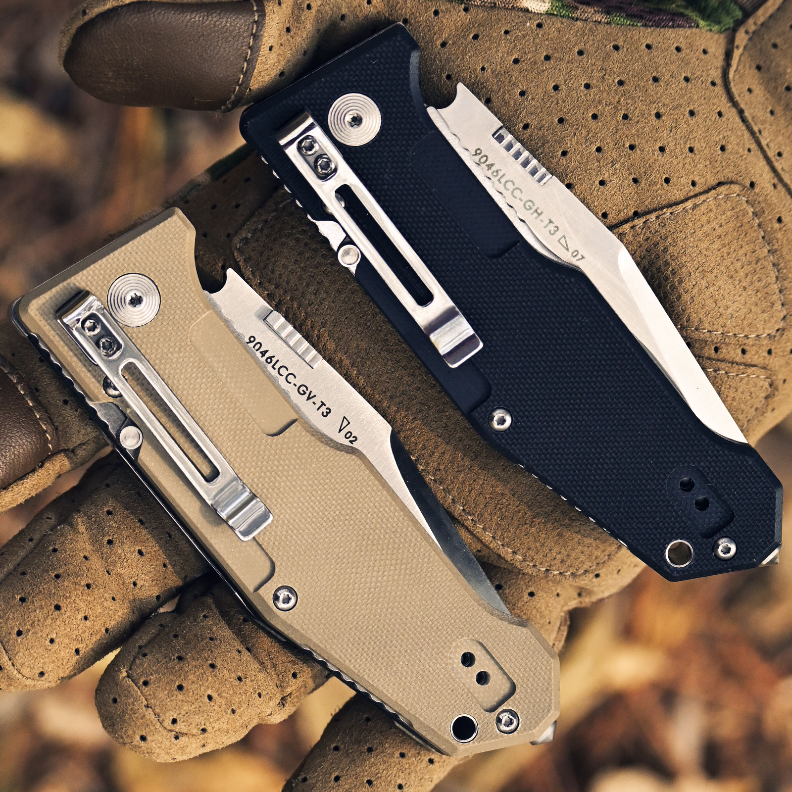 Camping Knife Folding Survival Stainless 12cr27mov Tool Folding Multi 9046 Outdoor Functional Steel LAND Knife Hunting Saw