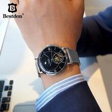 Bestdon Скелет механические часы мужские модные moon phase лучший