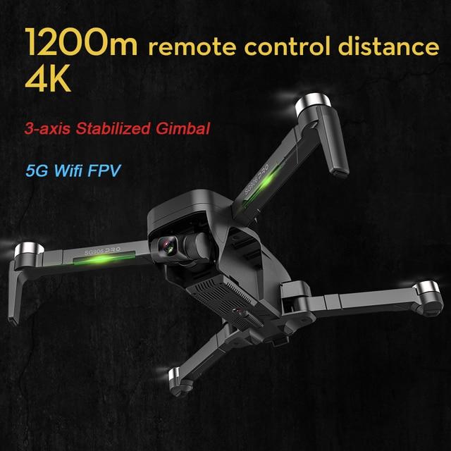 Beast SG906 PRO 2 GPS Drone With 2-axis Anti-shake Self-stabilizing Gimbal 4K Camera Brushless Motors 3