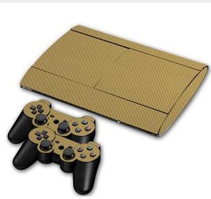 Image 4 - GTA V pour PS3 Surper slim 4000 Console vinyle peau autocollant couverture + 2 pièces contrôleur pour Sony PS 3 super mince 4000 contrôleur décalque