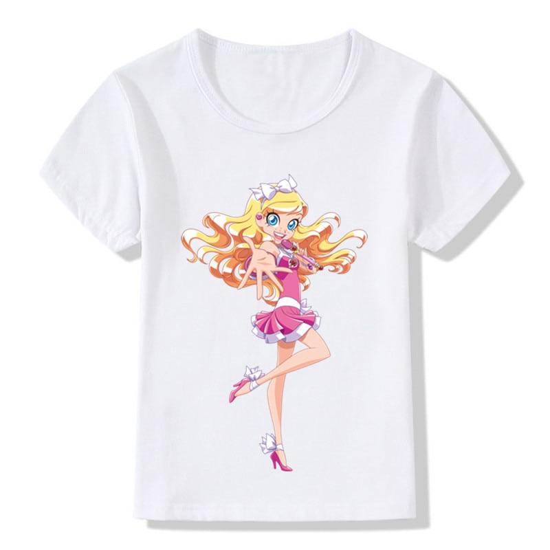 Hff541ef8c5514c138dc4239c6329298c0 Children LoliRock Magical Girl Funny T-shirt Boys Girls Anime Great s T shirt Kids Clothes
