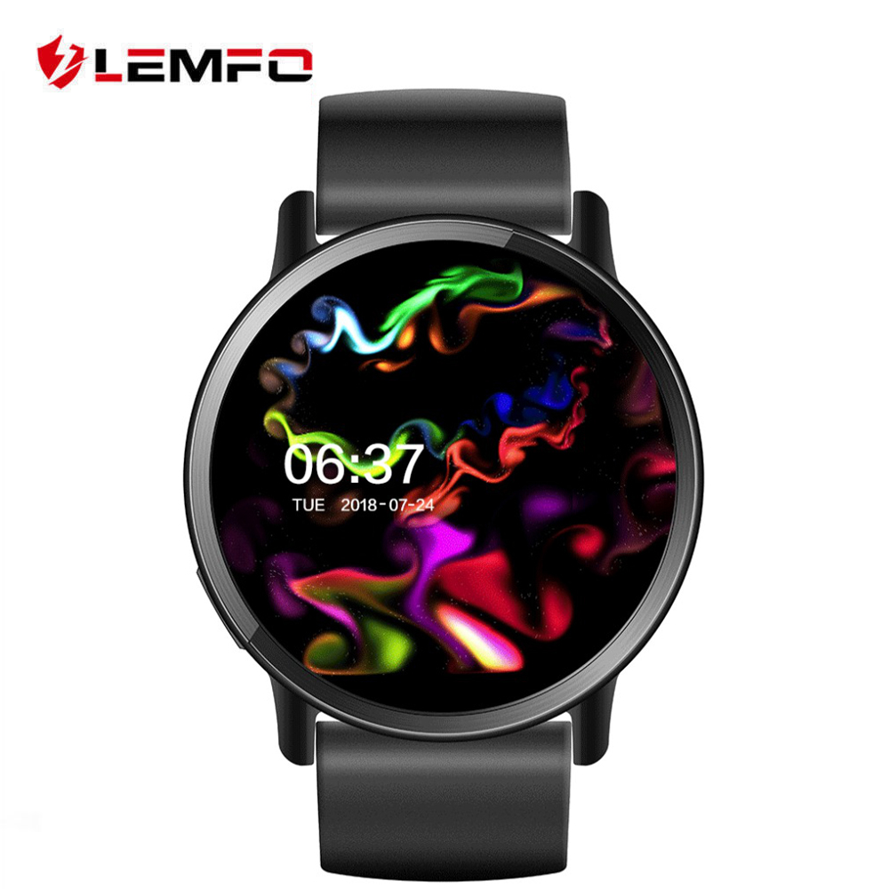 LEMFO LEM X Android 7.1 Smart Watch 4G Support 8MP Camera WIFI SIM card Heart Rate monitor 900Mah GPS watch Replacement strap Smart Watches     - AliExpress