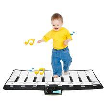 Kidlove многофункциональная фортепианная подстилка для танцев музыкальный ковер сенсорная игра обучающая игрушка