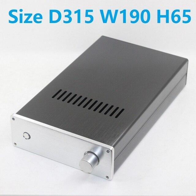 アンプ用アルミボタンd315 w190 h65,キーハウジング,Diy Case w2,プリアンプ,デコーダー,シェル