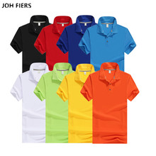 Top quality 2019 Summer Mens short sleeve polos shirts 65% cotton mens casual S-3XL fashion tops 9 colors