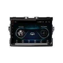 """9 """"4G LTE Android 8,1 подходит для TOYOTA PREVIA, Estima, Tarago, Canarado 2006-2009 мультимедийный стерео автомобильный dvd-плеер навигация gps радио"""