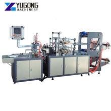 High Production Plastic Automatic Disposable Pe Glove Bag Making Machinery Polythene Pe Plastic Glove Making Machine