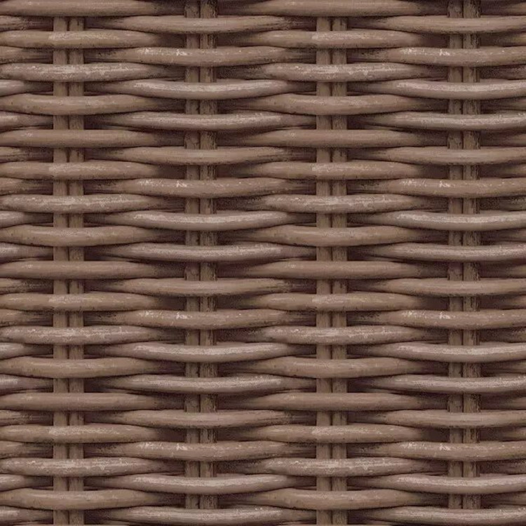 3D Chinese Style Model Rattan Wallpaper Natural Wind Southeast Asia Imitation Rattan Woven Pattern Restaurant Tea House Wallpape