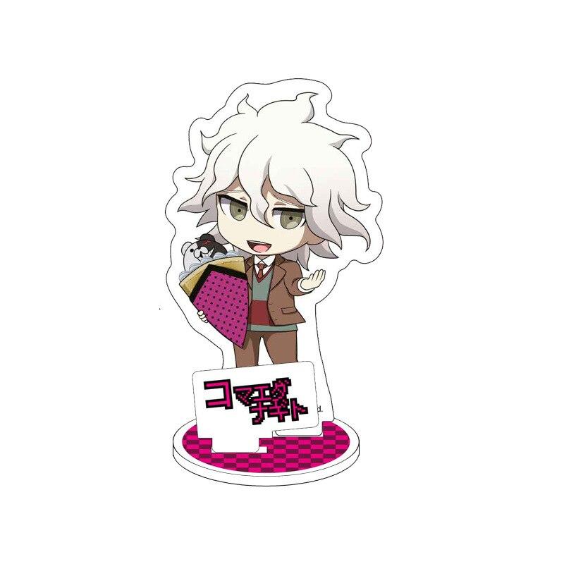 Game Anime Danganronpa: Trigger Happy Havoc Display Stand Plate Cartoon Figure Acrylic Stand Holder Model