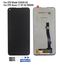 Original For ZTE Blade V2020 5G LCD Display Touch Panel Screen Digitizer Sensor Assembly For ZTE Axon 11 SE 5G 9000N Display