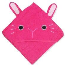 Детское банное полотенце для душа, ультра мягкое детское Хлопковое полотенце с капюшоном для малышей с капюшоном и изображением животных, Халат