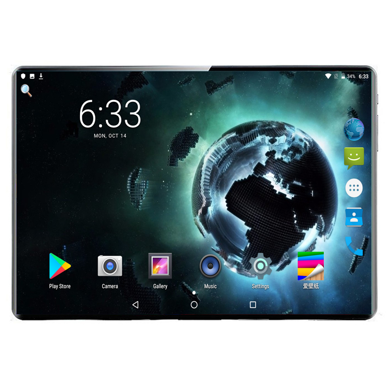 10,1 zoll <font><b>Tablet</b></font> PC Android 9.0 <font><b>3G</b></font> 4G Dual SIM Phone Call Octa-Core 6GB <font><b>Ram</b></font> 128GB Rom Eingebaute GPS Bluetooth <font><b>Wi</b></font>-<font><b>Fi</b></font> <font><b>Tablet</b></font> PC image