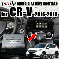 Plug&Play Android 7.1 video interface for Honda CR V 2018 2019 carplay interface support Android auto, YouTube by Lsailt