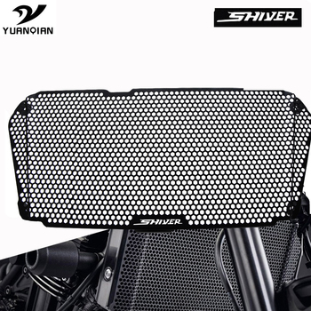 FOR Aprilia Shiver 900 2018 2020 2019 Motorcycle CNC Radiator Guard Protector Grille Grill Cover Shiver SL 750 SL750 2008-2017