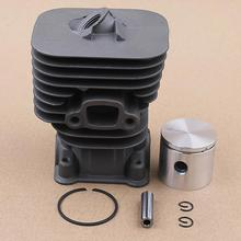 Cylinder Piston Pin Ring Kit For Husqvarna 124L 125R 128R Replacement Part String Trimmer 36mm cylinder block piston ring set for mitsubishi tl33 chinese bg330 trimmer