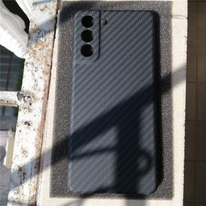 Image 2 - Dunne En Lichtgewicht Aramid Carbon Fiber Case Forsamsung Galaxy S21 Ultra S21 + Plus S20 Bumper Back Cover Shell