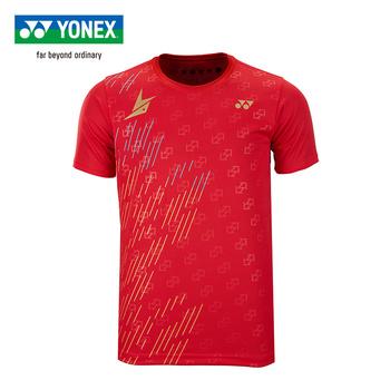 """Oryginalne Yonex koszulka do badmintona zdjęcia samochodów na stronie """"park samochodowy"""" Dan sportowe stylu koszulki z krótkim rękawem dla mężczyzn 16419ldcr tanie i dobre opinie"""