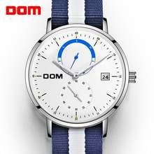 Dom Для мужчин часы Элитный бренд Мульти Функция s спортивные