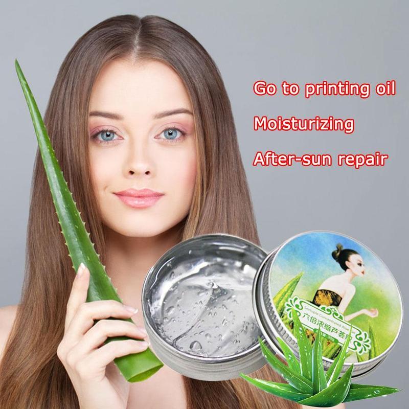 30g 100% Pure Natural Aloe Vera Gel Wrinkle Removal Moisturizing Anti Acne Anti-sensitive Oil-Control Aloe Vera Sunscreen Cream