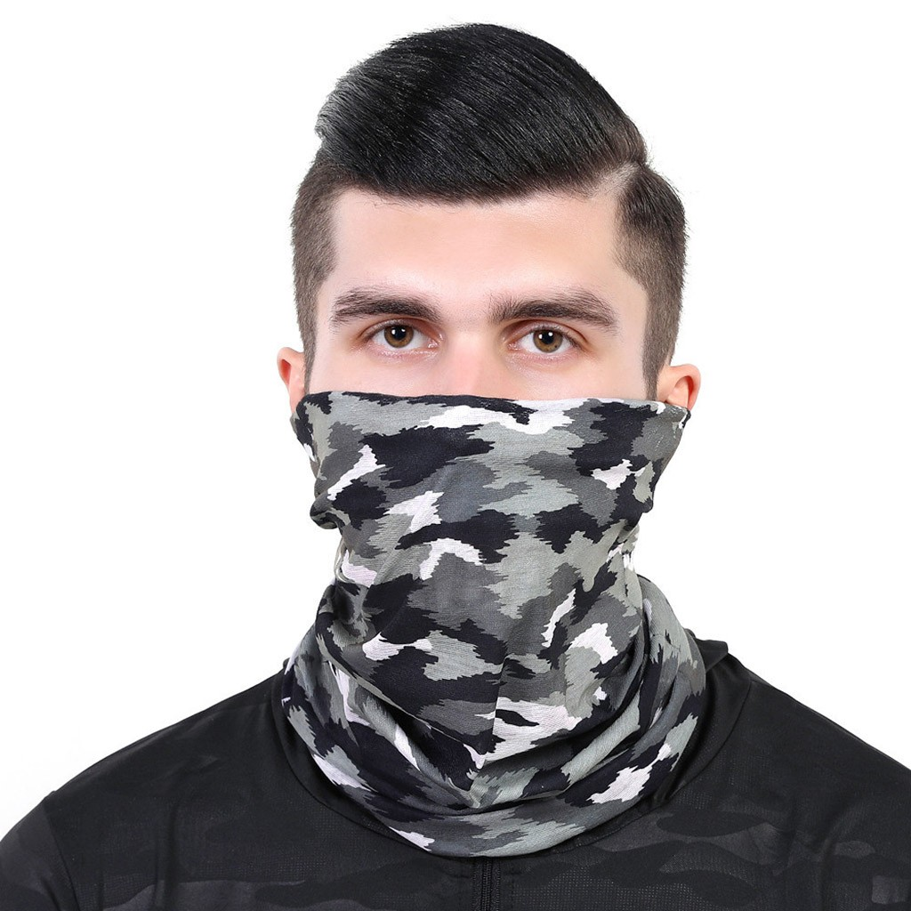 Outdoor Bandana Square Scarf 2020 Scarves Half Face Cover Windproof Sun Protection Bandana Dropshipping D3