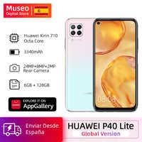 Global version Huawei P40 lite Cellphone 6G 128G 48MP Cameras AI 16MP front Camera 6.4 ''FHD Screen kirin 810 EMUI 10