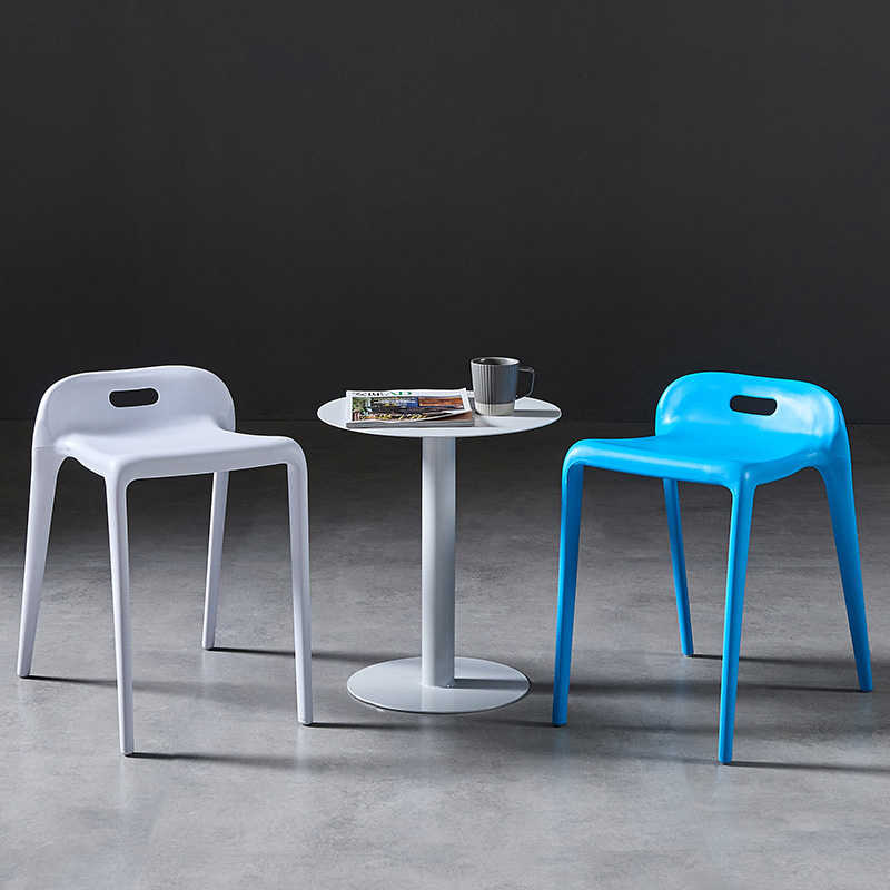 Classic Wooden Sofa Set, Nodic Simple Dining Chair Stool Minimalist Restaurant Balcony Lounge Plastic Chair Colour High Stool Aliexpress