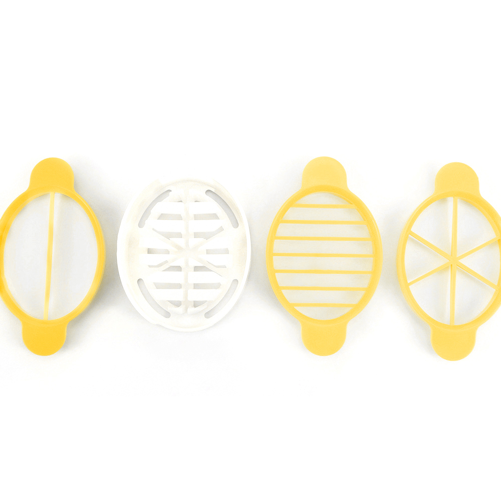 3 In 1 Egg Slicer Cutter Egg Cooking Tool Multifunctional Wheat Straw Mold Cutter Artifact Gadgets Kitchen Utensils