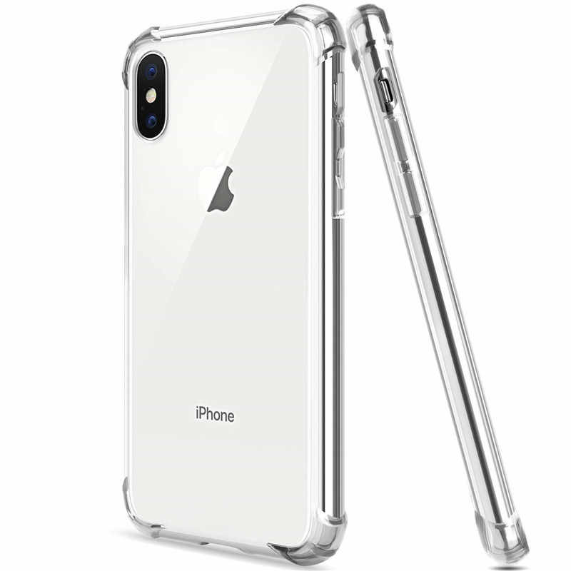 Dunne Clear Voor Iphone 11 Pro Max 11pro Silicone Case Voor Iphone 6 6s 7 8 Plus X Xr Xsmax Telefoon Case Voor iphone 5 S Se Xs Max Case