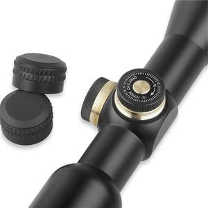 Image 4 - Ddartsgo frete grátis caça tático 4x32 rifle óptica sniper escopo mil ponto iluminado retículo de uma peça tubo vista