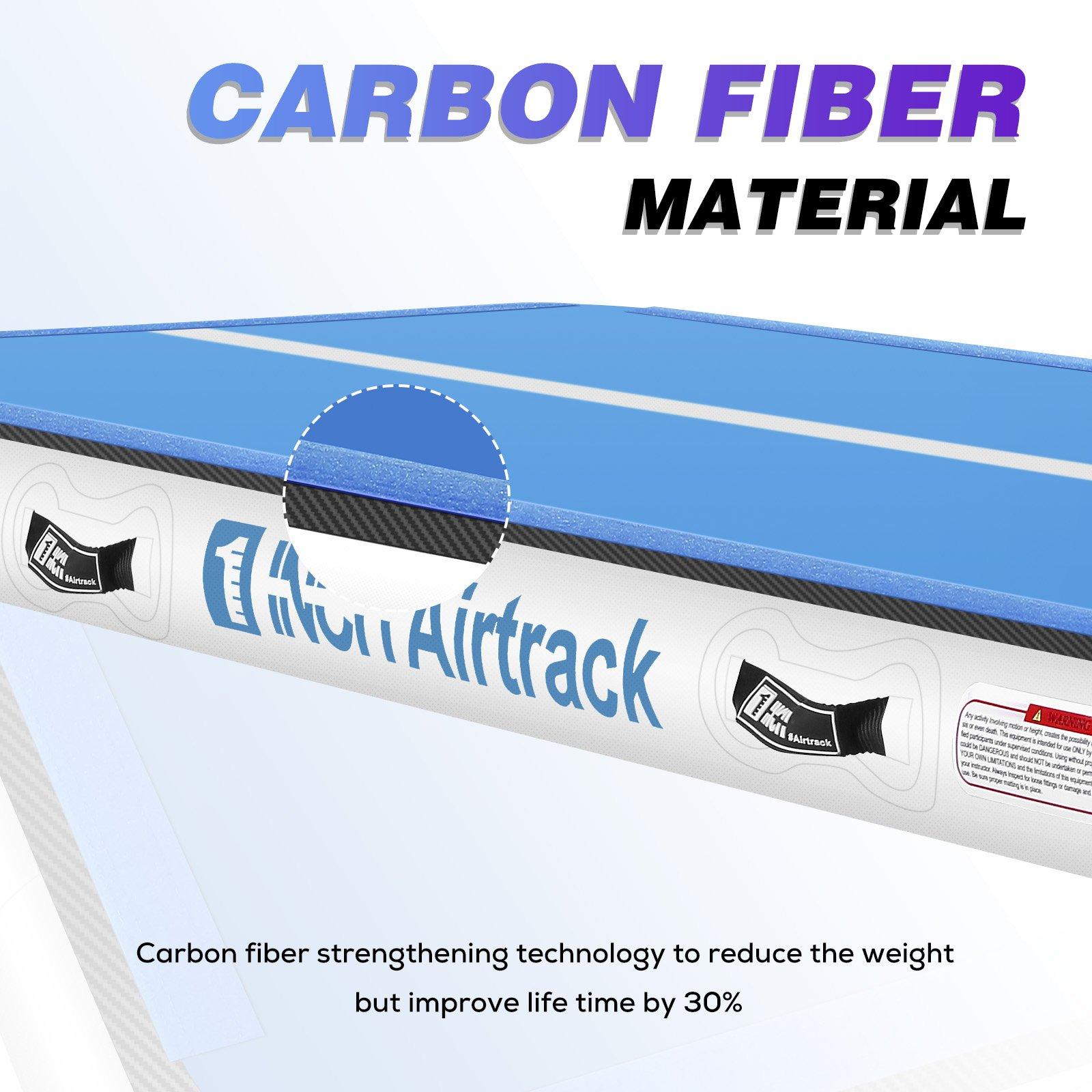 En Stock tapis de gymnastique gonflable de voie d'air de 3/4/5/6M pour le tapis de culbutage de Yoga - 6