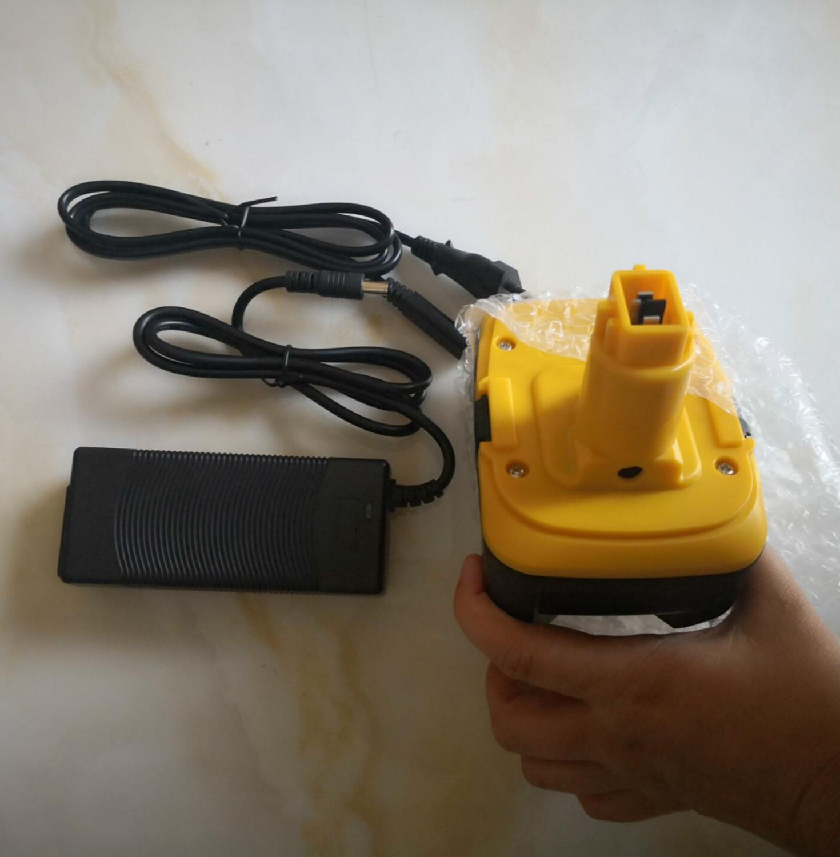 18V 4500mAh Liion Battery Charger For Dewalt Power Tool Battery DE9180 DC9180 DC9181 DC9182