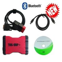 8pcs truck cable+ vd600 pro 2016.00 keygen with bluetooth scanner for delphis VD DS150E C-D-P cars trucks OBD diagnostic tool