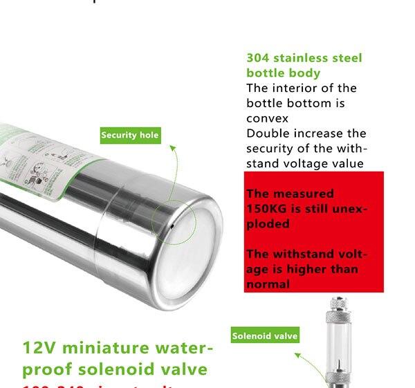 Zrdr sistema gerador de pressão para aquário,