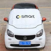 Wasserdichte Sonnencreme Frostschutz Schnee Abdeckung Für Mercedes Smart Forfour Fortwo 453 451 450 Windschutzscheibe Markise Auto Abdeckung Auto Teile