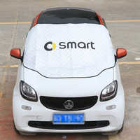 Waterproof Sunscreen Antifreeze Snow Cover For Mercedes Smart Forfour Fortwo 453 451 450 Windshield Awning Car Cover Auto Parts